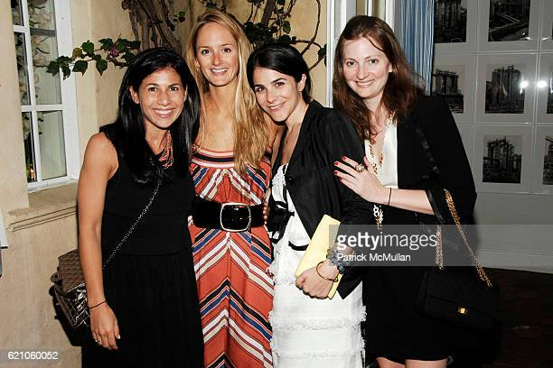 Arianne Gold Annie Buck Erica Silverman and Nancy Walsh attend CHANEL Private Dinner for KARL LAGERFELD at Casa Tua on May 14 2008 in Miami Beach FL