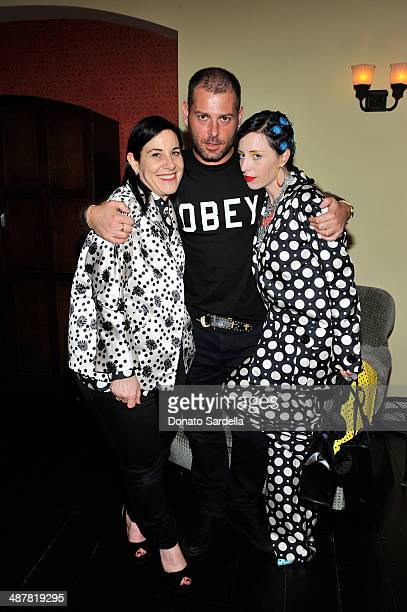 Arianne Phillips Fausto Puglisi and B Akerlund attend A private dinner In honor of Fausto Puglisi of Emanuel Ungaro hosted by Barneys New York at...