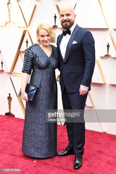 Arianne Sutner and Chris Butler attends the 92nd Annual Academy Awards at Hollywood and Highland on February 09 2020 in Hollywood California