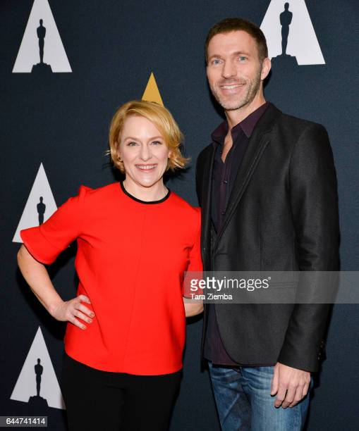 Arianne Sutner and Travis Knight nominated for their film 'Kubo and the Two Strings' arrive to the 89th Annual Academy Awards Oscar Week reception...