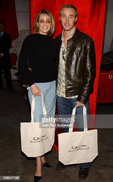 Arianne Zucker and Kyle Lowder at Ferrari of Orange County