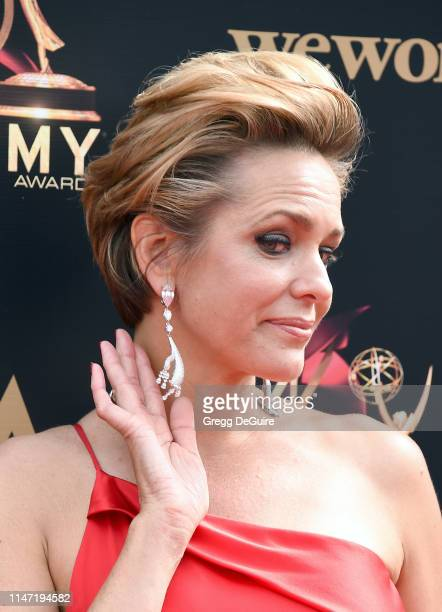 Arianne Zucker attends the 46th annual Daytime Emmy Awards at Pasadena Civic Center on May 05 2019 in Pasadena California