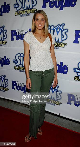Arianne Zucker during Teen People Celebrates The 6th Annual '25 Hottest Stars Under 25' at Lucky Strike Lanes in Hollywood California United States