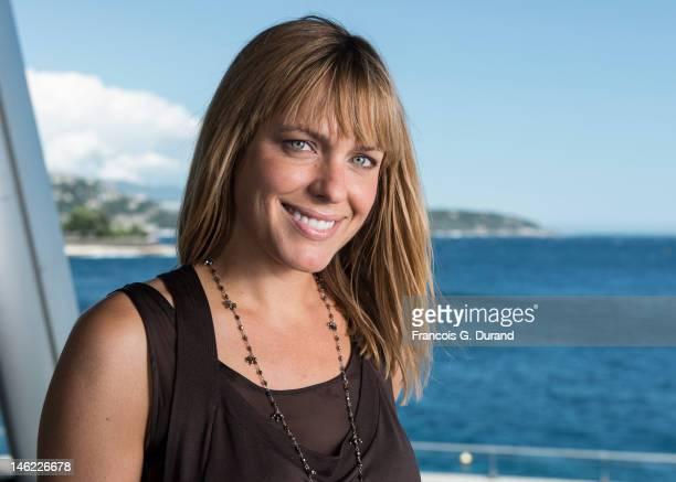 Arianne Zucker poses for a portrait session during the 52nd Monte Carlo TV Festival on June 12 2012 in Monaco Monaco