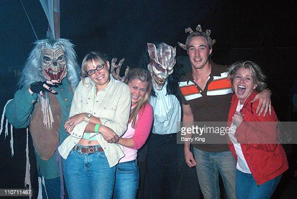 Arianne Zuker Alison Sweeney Kyle Lowder and Judi Evans and monsters