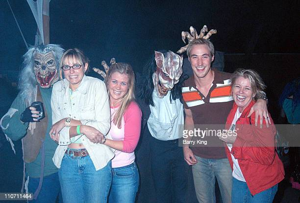 Arianne Zuker Alison Sweeney Kyle Lowder and Judi Evans with Monsters in Ghost Town