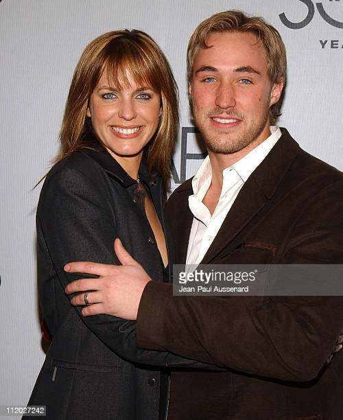 Arianne Zuker and Kyle Lowder during SOAPnet 5th Anniversary Party at Bliss in Los Angeles California United States