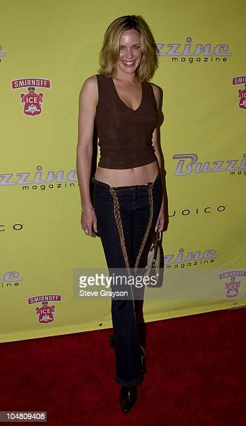 Arianne Zuker during Buzzine Magazine Launch Party at Deep Club in Hollywood California United States