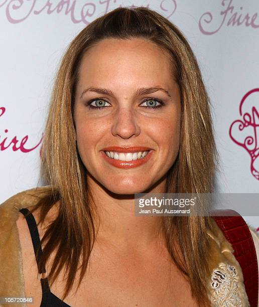 Arianne Zuker during Faire Frou Frou Grand Opening Celebration Arrivals at Faire Frou Frou Boutique in Studio City California United States