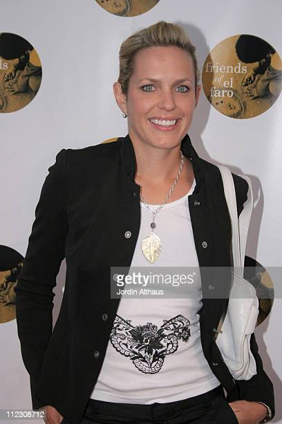 Arianne Zuker during Molly Sims 4th Annual Night with the Friends of El Faro at The Music Box Henry Fonda Theatre in Hollywood California United...