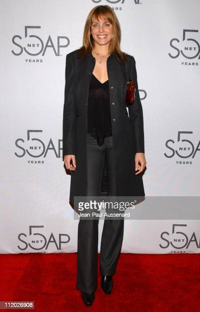 Arianne Zuker during SOAPnet 5th Anniversary Party at Bliss in Los Angeles California United States