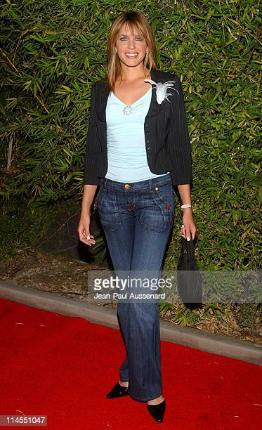 Arianne Zuker during SOAPnet Fall 2004 Launch Party at Falcon in Hollywood California United States