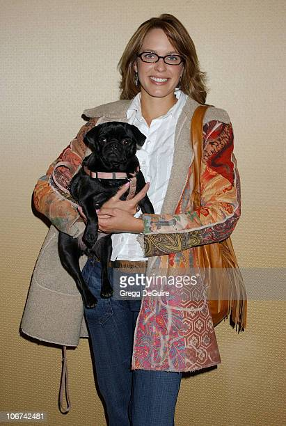 Arianne Zuker during The Jeep Yappy Hour and Febreze Pet Fashion Show sponsored by GW Little Arrivals at Century Plaza Hotel in Century City...