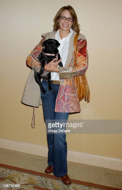 Arianne Zuker during The Jeep Yappy Hour and Febreze Pet Fashion Show sponsored by GW Little - Arrivals at Century Plaza Hotel in Century City,...