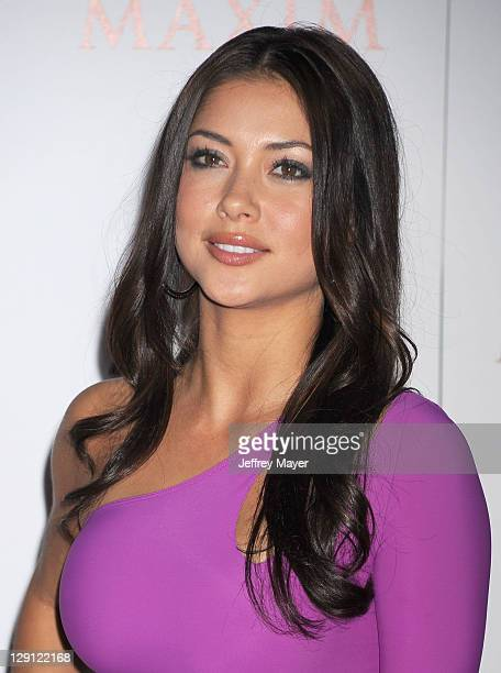 Arianny Celeste arrives at Maxim's Hot 100 Party at Eden on May 11 2011 in Hollywood California