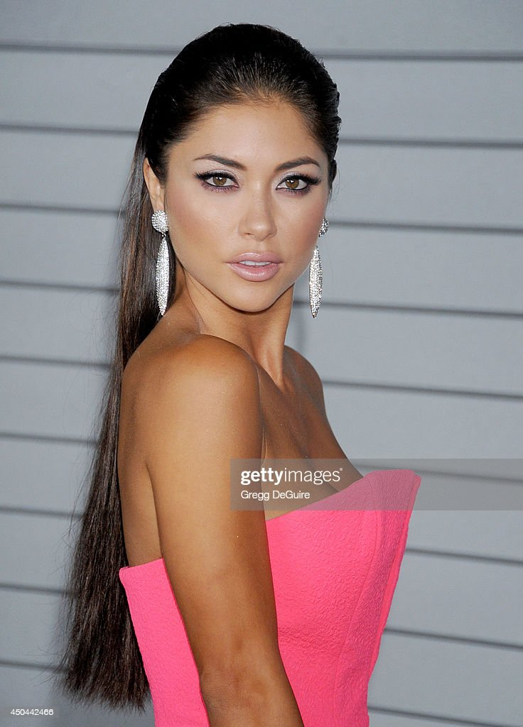 Arianny Celeste arrives at the MAXIM Hot 100 celebration event at Pacific Design Center on June 10, 2014 in West Hollywood, California.