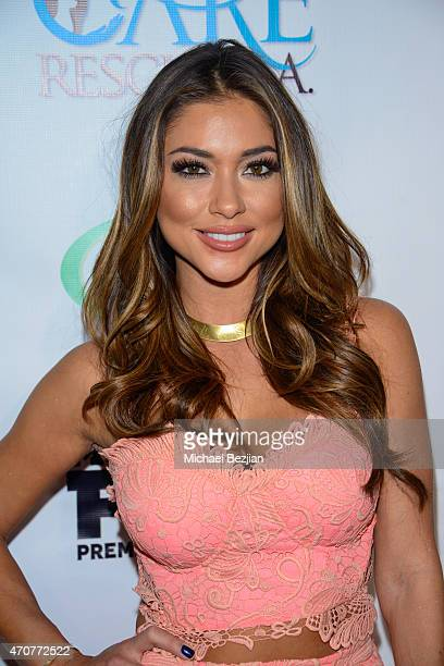 Arianny Celeste attends Babes In Toyland Charity Toy Drive at Boulevard3 on April 22 2015 in Hollywood California