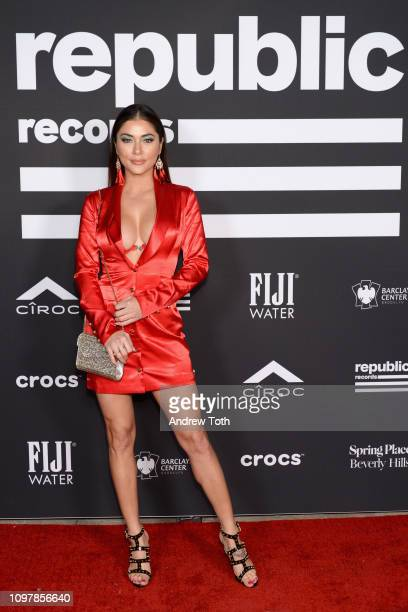 Arianny Celeste attends Republic Records Grammy after party at Spring Place Beverly Hills on February 10 2019 in Beverly Hills California