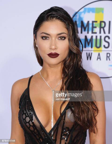 Arianny Celeste attends the 2017 American Music Awards at Microsoft Theater on November 19 2017 in Los Angeles California