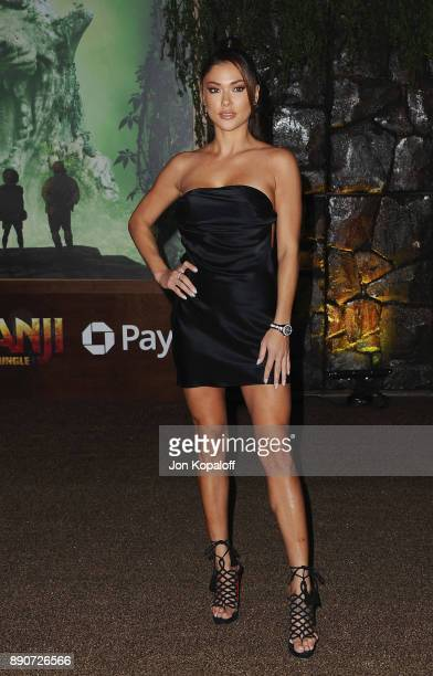 Arianny Celeste attends the Los Angeles Premiere Jumanji Welcome To The Jungle at the TCL Chinese Theatre on December 11 2017 in Hollywood California