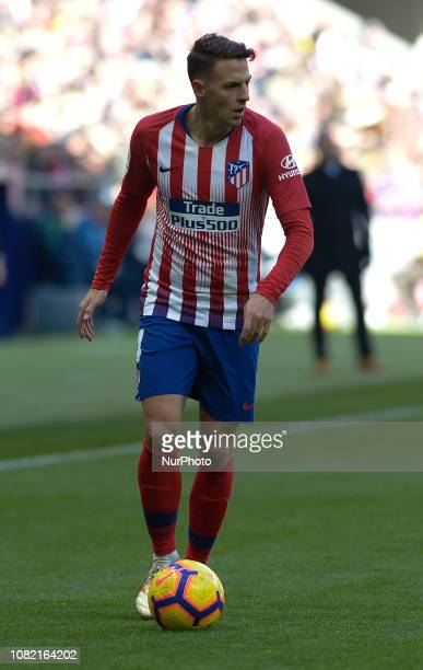 Arias of Atletico de Madrid during a match between Atletico de Madrid vs LEVANTE for Spanish League at Wanda Metropolitano Stadium on January 13 2018...