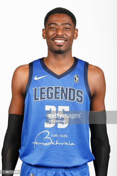 Aric Homan of the Texas Legends poses for a headshot during G League Media Day on November 4 2019 at Comerica Center in Frisco Texas NOTE TO USER...