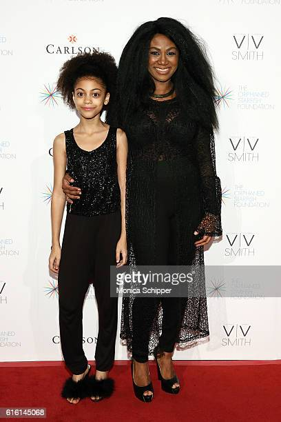 Arica Himmel and Zelma Davis attend The Orphaned Starfish Foundation's 15th Anniversary Celebration Gala at Cipriani Wall Street on October 21 2016...