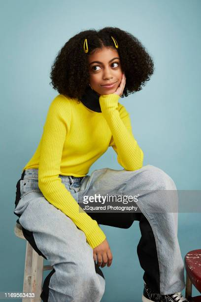 Arica Himmel of ABC's 'Mixedish' poses for a portrait during the 2019 Summer TCA Portrait Studio at The Beverly Hilton Hotel on August 05 2019 in...