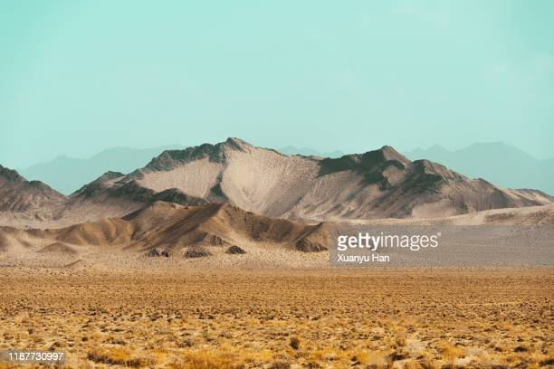arid geological landscape - semi arid stock pictures, royalty-free photos & images