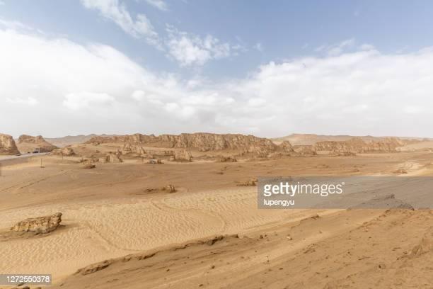 arid geological landscape - 浸食された ストックフォトと画像