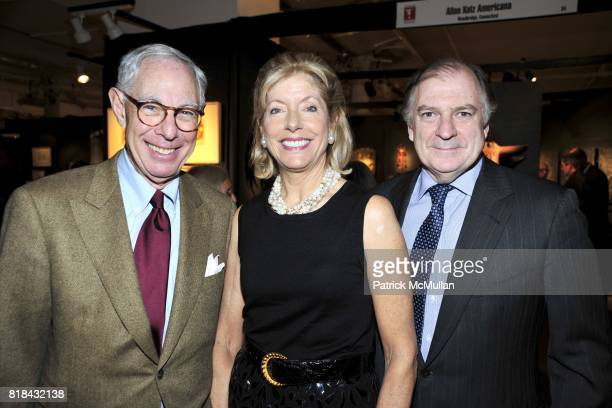 Arie Koppelman Liz Peek and Michael Lynch attend THE AMERICAN ANTIQUES SHOW BENEFIT PREVIEW Celebrates TEXAS Sponsored by The Magazine ANTIQUES at...