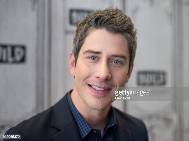 Arie Luyendyk Jr attends the Build Series to discuss 'The Bachelor' at Build Studio on February 6 2018 in New York City