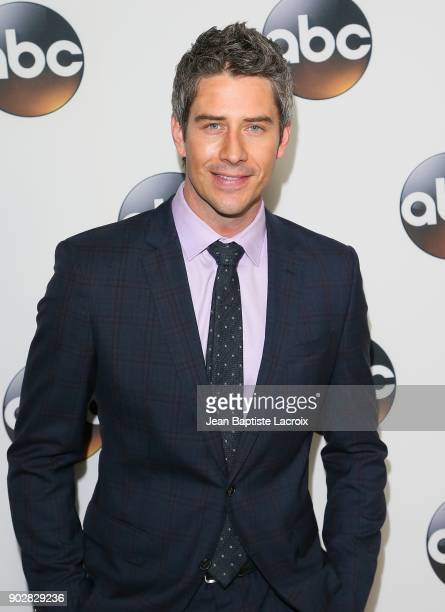 Arie Luyendyk Jr attends the Disney ABC Television Group Hosts TCA Winter Press Tour 2018 on January 8 2018 in Pasadena California