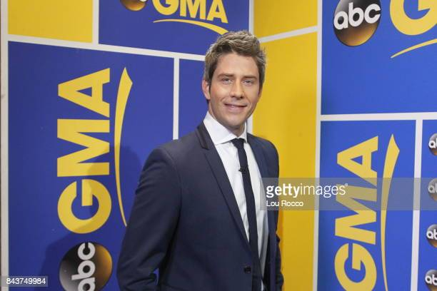 AMERICA Arie Luyendyk Jr is announced as the new star of ABCs 'The Bachelor' on 'Good Morning America' Thursday September 7 2017 on the ABC...