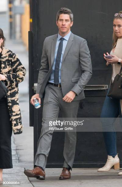 Arie Luyendyk Jr is seen at 'Jimmy Kimmel Live' on January 02 2018 in Los Angeles California