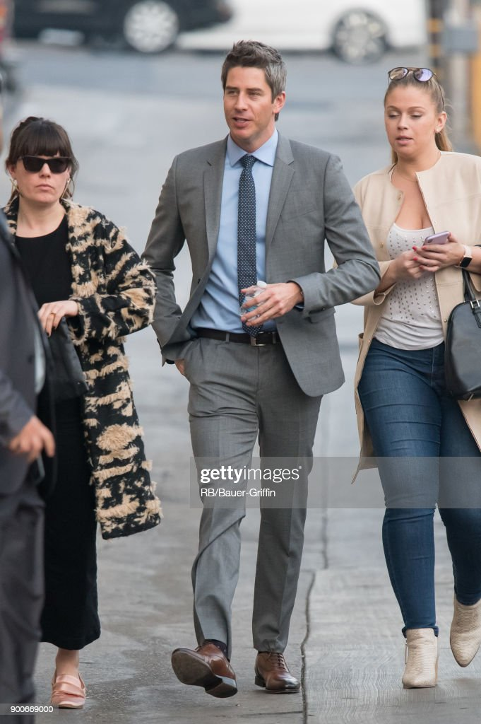 Arie Luyendyk Jr. is seen at 'Jimmy Kimmel Live' on January 02, 2018 in Los Angeles, California.