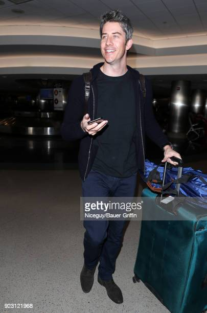 Arie Luyendyk Jr is seen at LAX on February 22 2018 in Los Angeles California
