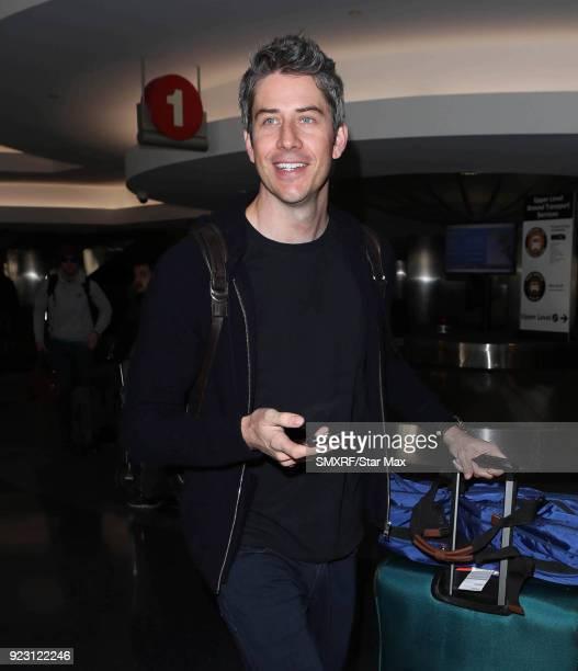 Arie Luyendyk Jr is seen on February 22 2018 in Los Angeles California