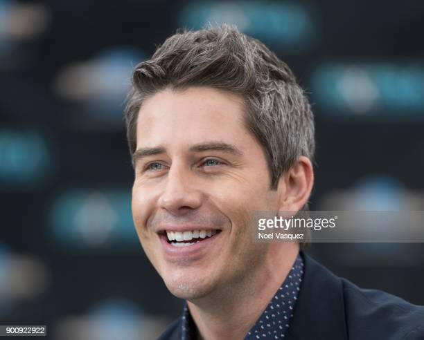 Arie Luyendyk visits 'Extra' at Universal Studios Hollywood on January 3 2018 in Universal City California