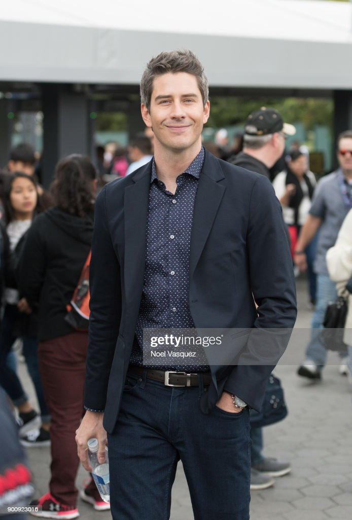 Arie Luyendyk visits 'Extra' at Universal Studios Hollywood on January 3, 2018 in Universal City, California.