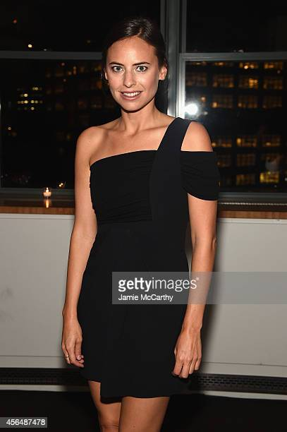 Ariel Ashe attends The Headstrong Project Words Of War Benefit at Tribeca 360 on October 1 2014 in New York City
