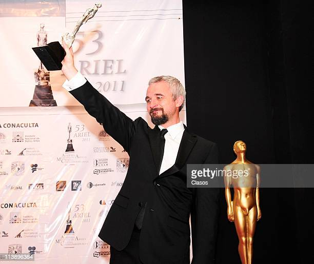 Ariel Awards ceremony who celebrates the best in films made in Mexico In this image Michael Rowe on May 7 2011 in Mexico City