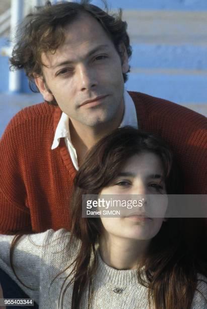 Ariel Besse et Patrick Dewaere au Festival de Cannes en mai 1981 France