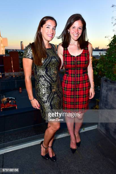 Ariel Cross and Elizabeth Broomfield attend American Friends Of The Israel Museum Celebrate Summer 2018 at The High Line Room The Standard Hotel on...