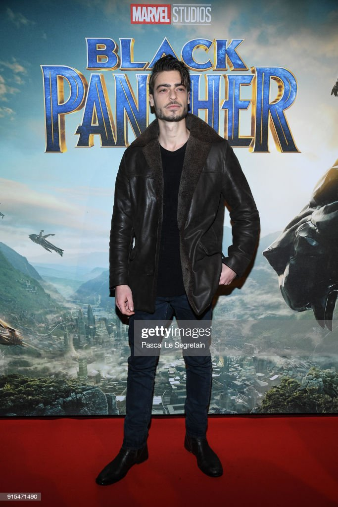 'Black Panther' Paris Special Screening At Le Grand Rex : Nieuwsfoto's