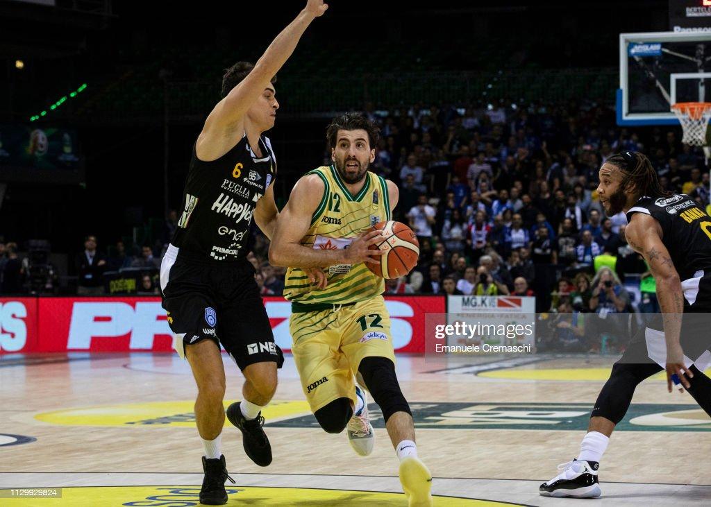 ITA: Sidigas Avellino v Happy Casa Brindisi - LBA Final Eight 2019