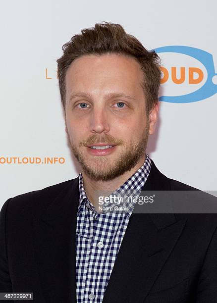 Ariel Foxman attends the 13th annual Live Out Loud Young Trailblazers Benefit gala at The Times Center on April 28 2014 in New York City