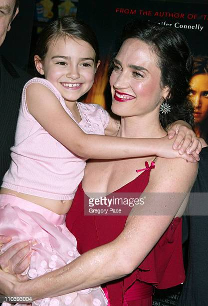 Ariel Gade and Jennifer Connelly during 'Dark Water' New York City Premiere Inside Arrivals at Clearview Chelsea West Cinema in New York City New...