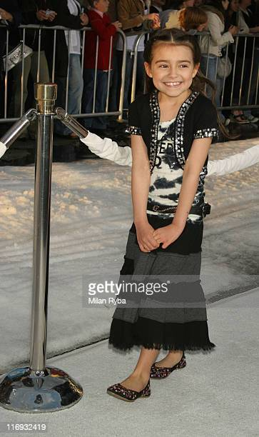Ariel Gade during 20th Century Fox's 'Ice Age The Meltdown' Los Angeles Premiere Arrivals at Mann's Grauman Chinese Theater in Hollywood California...