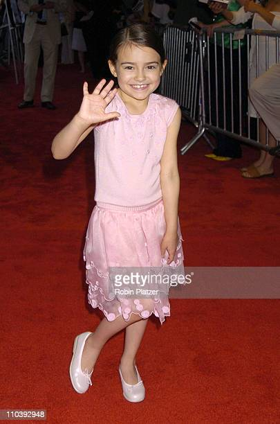 Ariel Gade during 'Dark Water' New York City Premiere Arrivals at The Clearview Chelsea West Cinema in New York City New York United States